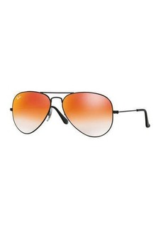 Ray-Ban Ombre-Mirrored Aviator Sunglasses