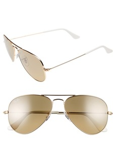 Ray-Ban 'Original - Small Aviator' 55mm Sunglasses