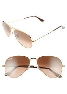 Ray-Ban Original 55mm Small Aviator Sunglasses
