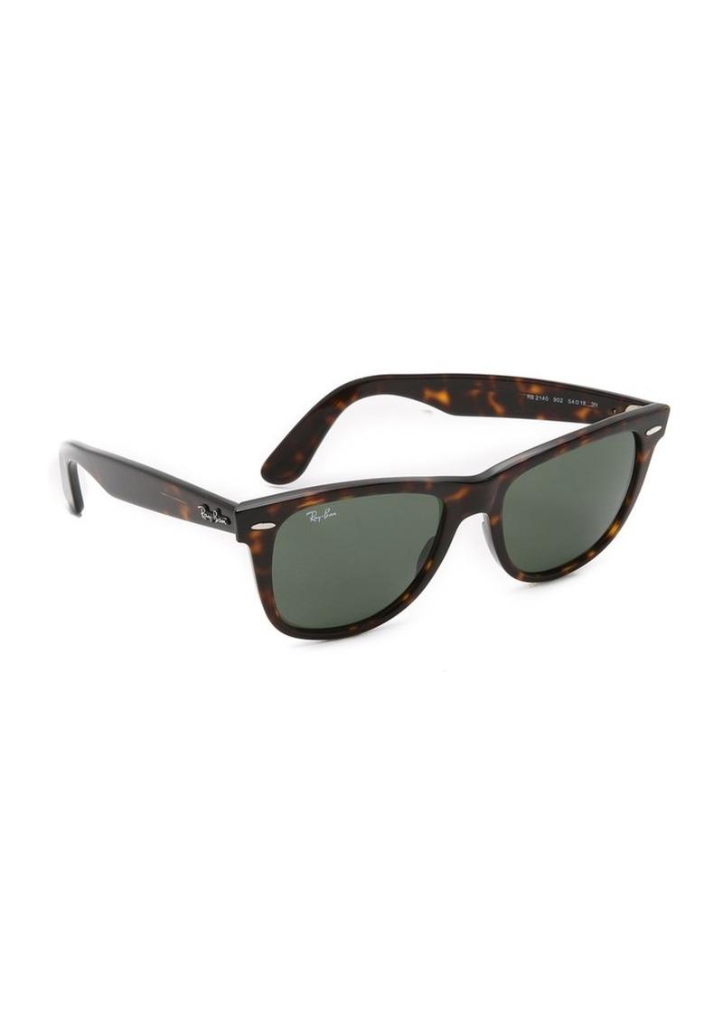 eb7761e940 Ray-Ban Outsiders Oversized Wayfarer Sunglasses