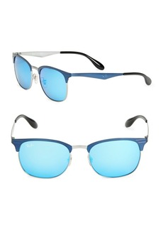 Ray-Ban Oval Clubmaster Sunglasses