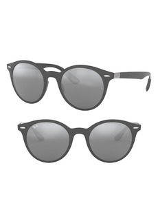 Ray-Ban Phantos 50mm Mirrored Sunglasses