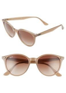 Ray-Ban Phantos 53mm Round Sunglasses
