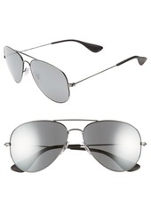 Ray-Ban Pilot 58mm Sunglasses