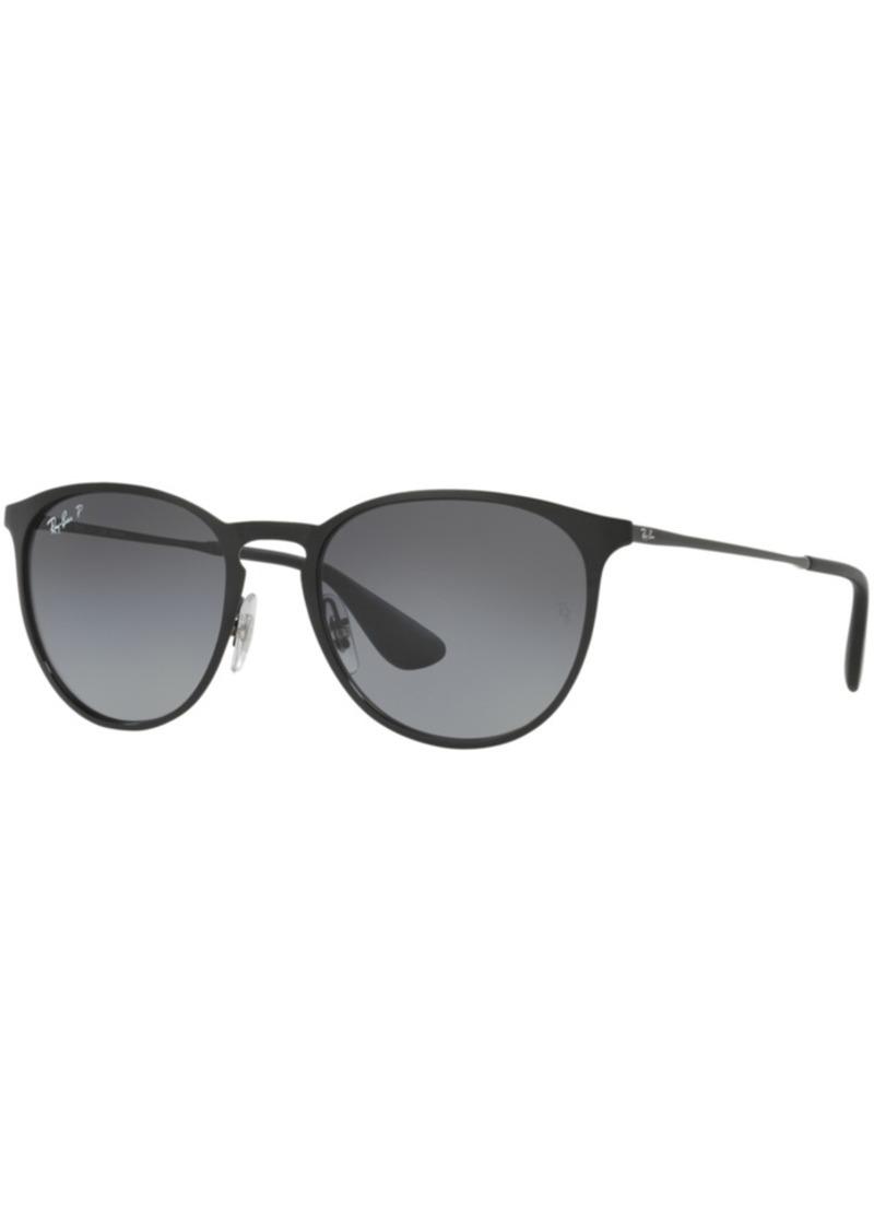 Ray-Ban Polarized Polarized Sunglasses, RB3539 Erika Metal