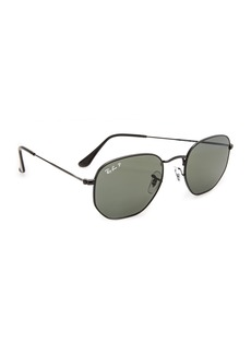 Ray-Ban Polarized Hexagonal Sunglasses