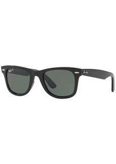Ray-Ban Polarized Modified Wayfarer Sunglasses, RB4340 50