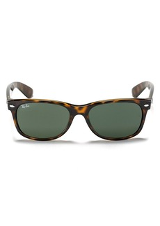 Ray-Ban Unisex New Wayfarer Polarized Sunglasses, 55mm