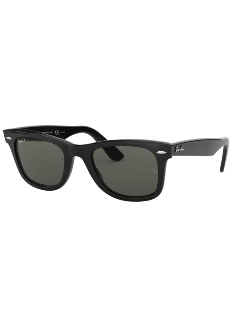 Ray-Ban Polarized Sunglasses, RB2140 Original Wayfarer