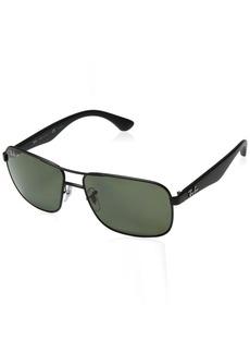 Ray-Ban Polarized RB3516 Sunglasses -  Frame/Green Lens