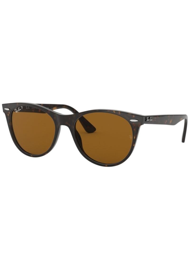 Ray-Ban Polarized Sunglasses, RB2185 55