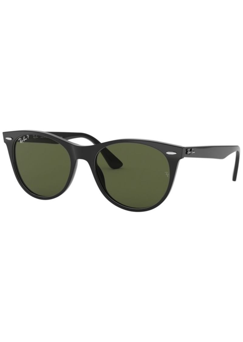 Ray-Ban Polarized Sunglasses, RB2185 55