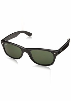 Ray-Ban RB2132 New Wayfarer Polarized Sunglasses  55 mm