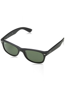 Ray-Ban RB2132 Wayfarer Sunglasses Unisex Ray-Ban Glasses 100% UV Protection Polarized Wayfarer Reduce Eye Strain  Prescription-Ready Lenses 58 mm Frame