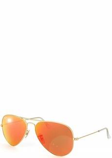 Ray-Ban RB3025 Aviator Flash Mirrored Sunglasses  55 mm