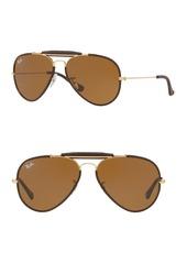 Ray-Ban RB3422Q Outdoorsman Craft 58MM Pilot Sunglasses
