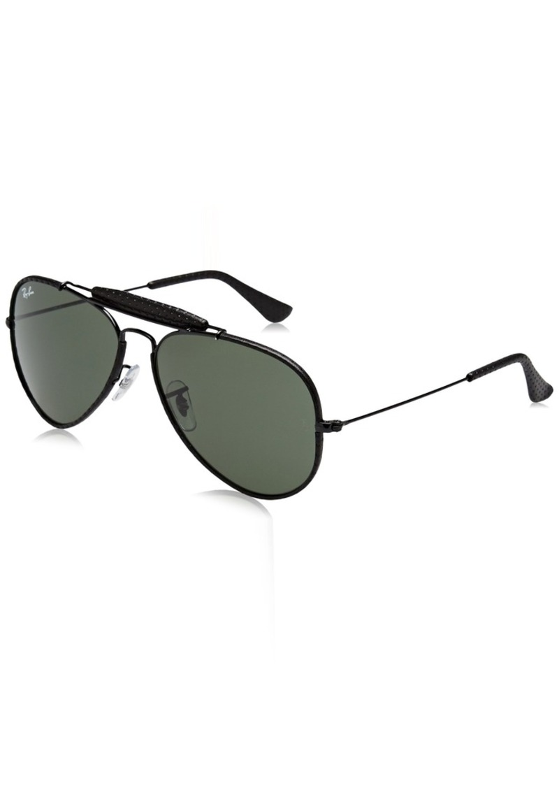 Ray-Ban RB3422Q Outdoorsman Craft Aviator Sunglasses