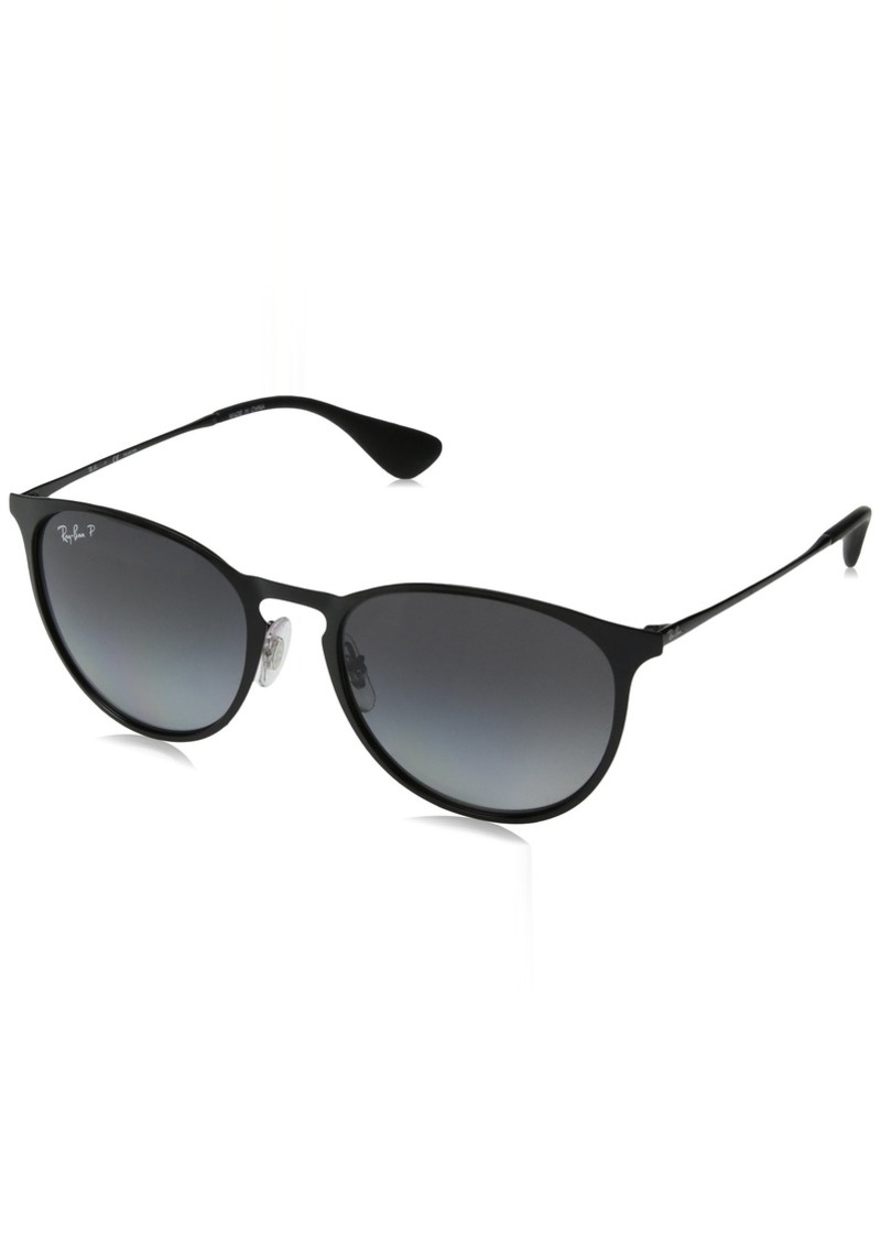 Ray-Ban RB3539 Erika Round Metal Sunglasses