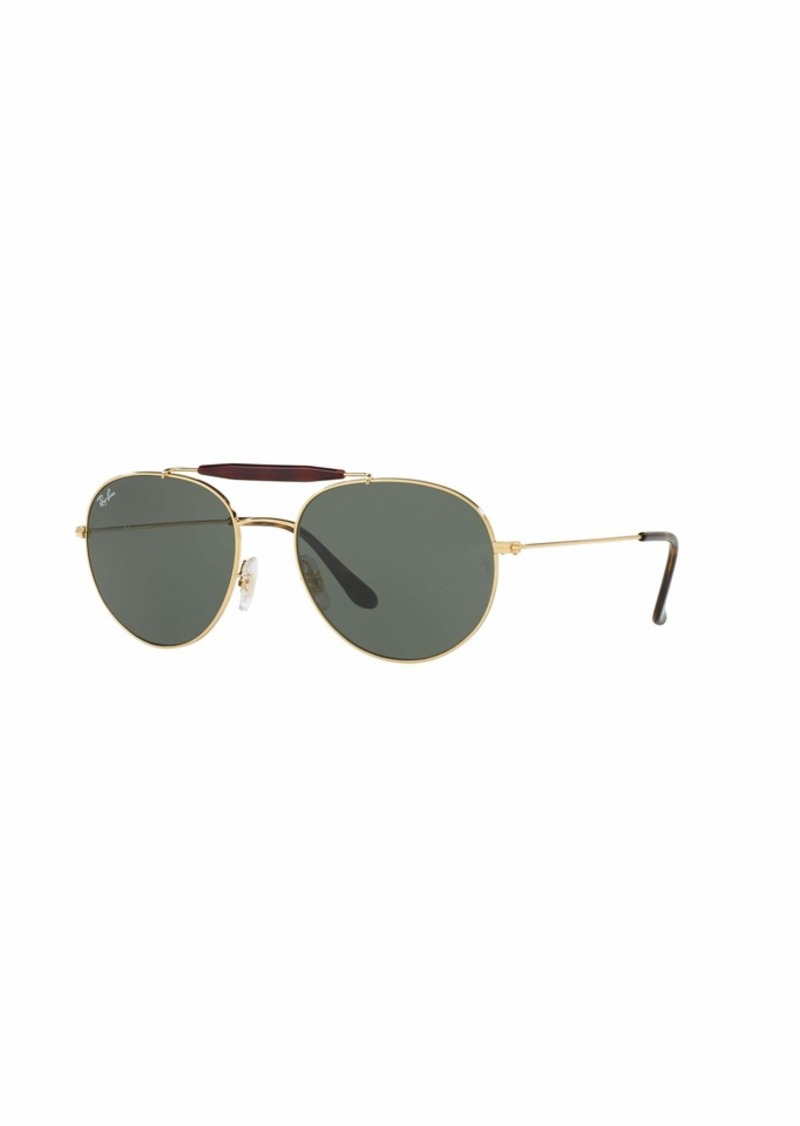 Ray-Ban RB3540L Round Metal Sunglasses