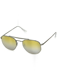 Ray-Ban RB3648 Marshall Aviator Sunglasses   Non-Polarized