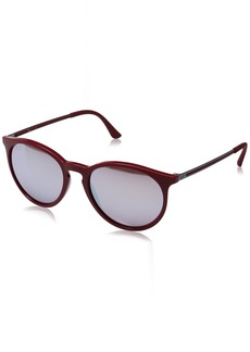 Ray-Ban RB4274 - 6261B5 Sunglasses Bordeaux Gunmetal/Pink Silver 53mm