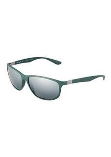 Ray-Ban Rectangular Full-Rim Sunglasses
