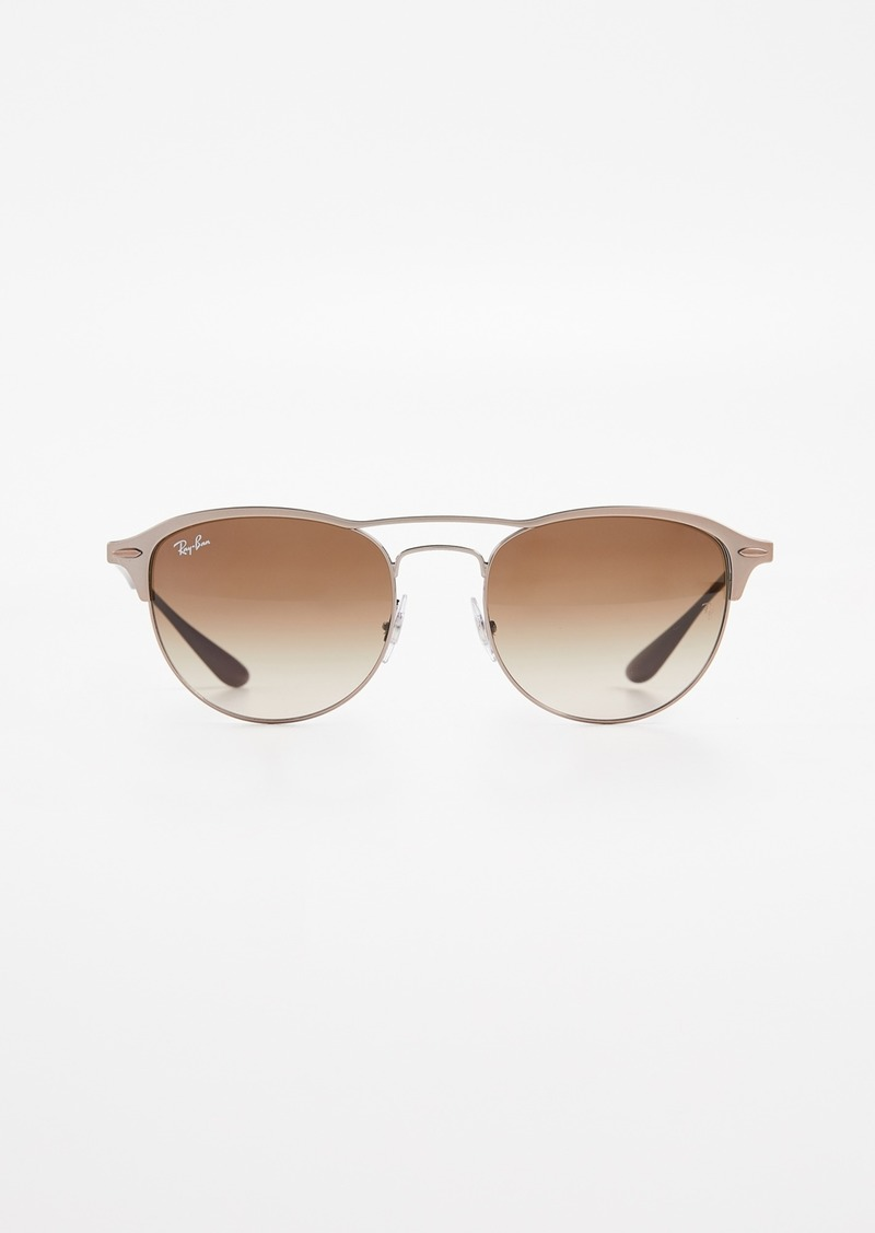 Ray-Ban RB3596 Lightforce Round Aviator Sunglasses