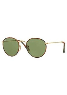 Ray-Ban Round Camo-Print Sunglasses