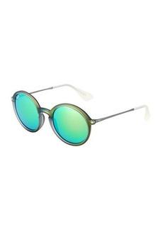 Ray-Ban Round Iridescent Sunglasses