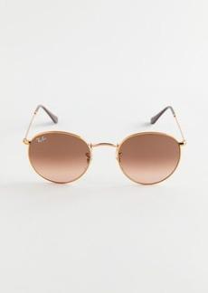 Ray-Ban Round Metal Gradient Sunglasses
