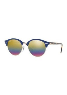 Ray-Ban Round Mirrored Clubmaster® Sunglasses