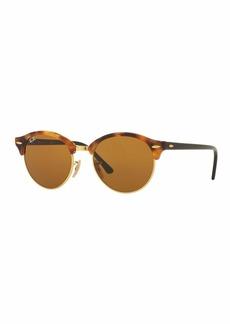Ray-Ban Round Monochromatic Clubmaster® Sunglasses