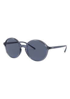 Ray-Ban Round Monochromatic Sunglasses