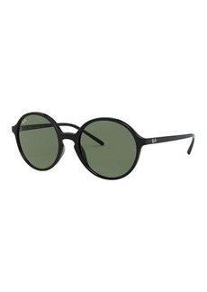 Ray-Ban Round Monochromatic Sunglasses