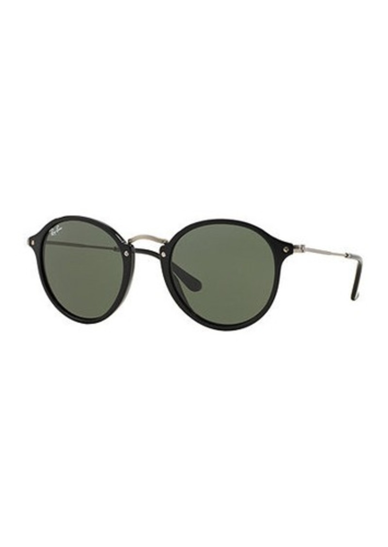 7960d5dd02 Ray-Ban Ray-Ban Round Plastic Metal Sunglasses