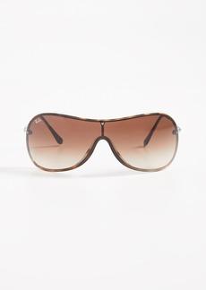Ray-Ban RB4411 Shield Sunglasses
