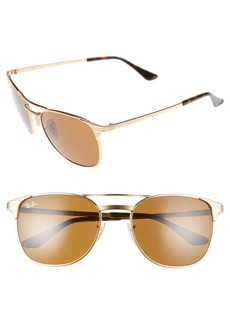 Ray-Ban Signet 55mm Retro Sunglasses