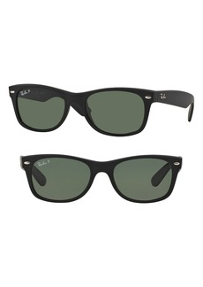 Ray-Ban Small New Wayfarer 52mm Polarized Sunglasses
