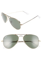 Ray-Ban Small Original 55mm Aviator Sunglasses