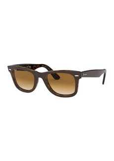 Ray-Ban Square Acetate Gradient Sunglasses