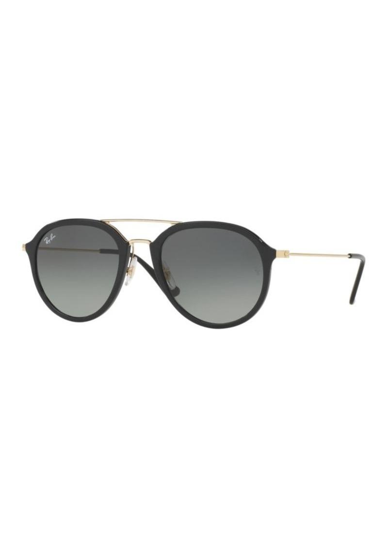 33bbf9ae33 Ray-Ban Ray-Ban Square Double Bridge Sunglasses