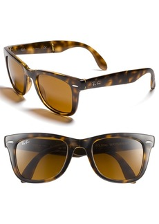 Ray-Ban Standard 50mm Folding Wayfarer Sunglasses