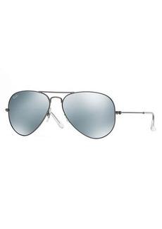 Ray-Ban Standard Mirrored Aviator Sunglasses