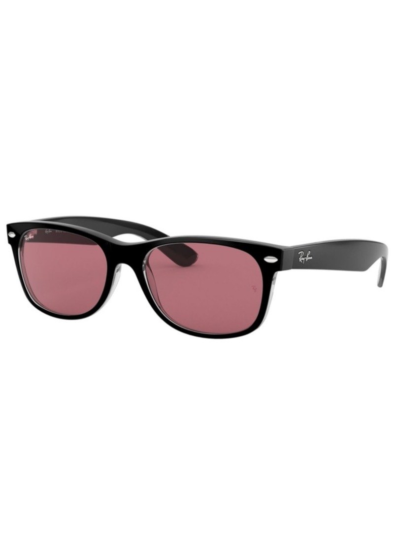 Ray-Ban Sunglasses, RB2132 55 New Wayfarer