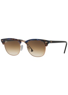 Ray-Ban Sunglasses, RB3016 Clubmaster Fleck