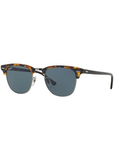 Ray-Ban Sunglasses, RB3016 51 Clubmaster Fleck