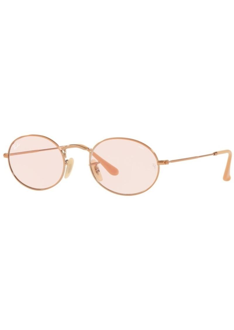 Ray-Ban Sunglasses, RB3547N Oval Evolve