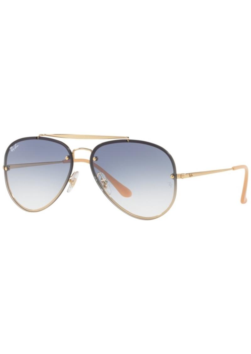 Ray-Ban Sunglasses, RB3584N Blaze Aviator Gradient