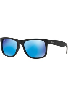 Ray-Ban Justin Mirrored Sunglasses, RB4165