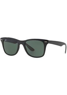 Ray-Ban Sunglasses, RB4195 52 Wayfarer Liteforce